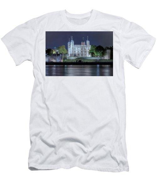 Tower Of London Men's T-Shirt (Slim Fit) by Joana Kruse