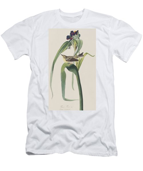 Vigor's Warbler Men's T-Shirt (Slim Fit) by John James Audubon