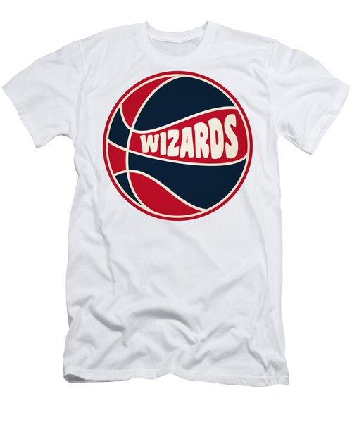 Washington Wizards Retro Shirt Men's T-Shirt (Slim Fit) by Joe Hamilton