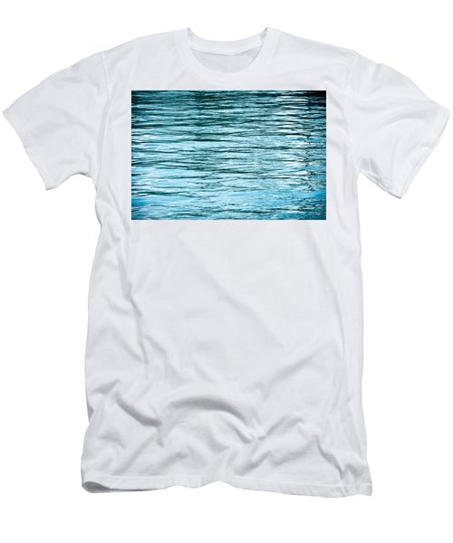 Water Flow Men's T-Shirt (Slim Fit) by Steve Gadomski