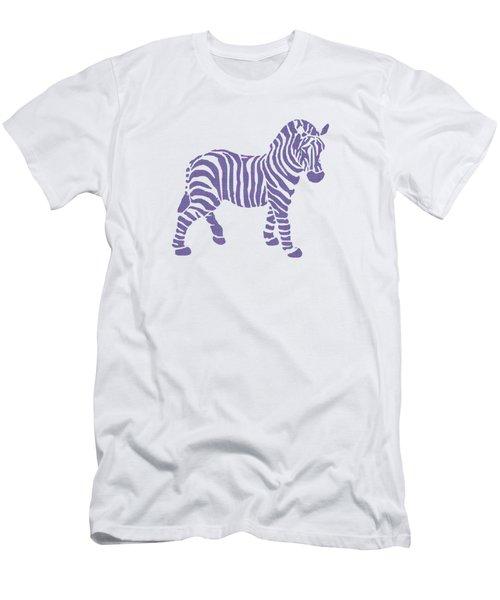 Zebra Stripes Pattern Men's T-Shirt (Slim Fit) by Christina Rollo