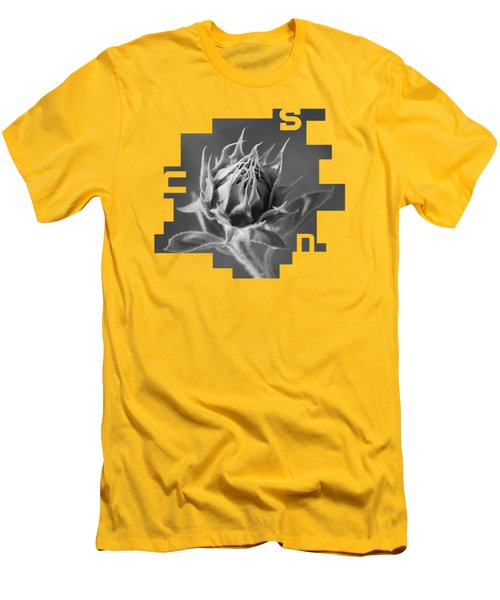 Sunflower Men's T-Shirt (Slim Fit) by Konstantin Sevostyanov