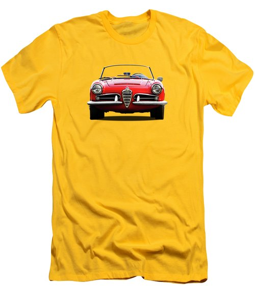 Alfa Romeo Spider Men's T-Shirt (Slim Fit) by Mark Rogan
