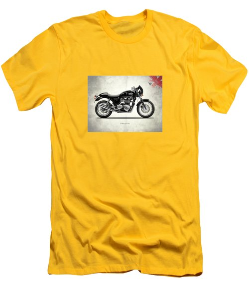 Triumph Thruxton Men's T-Shirt (Slim Fit) by Mark Rogan