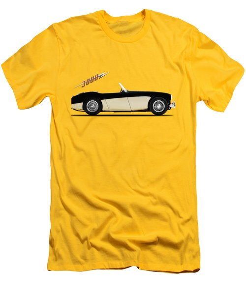 Austin Healey 3000 Men's T-Shirt (Slim Fit) by Mark Rogan