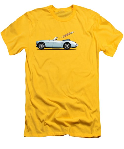 Austin Healey 3000 Mk3 Men's T-Shirt (Slim Fit) by Mark Rogan