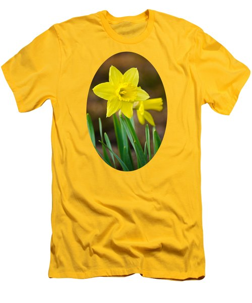 Beautiful Daffodil Flower Men's T-Shirt (Slim Fit) by Christina Rollo
