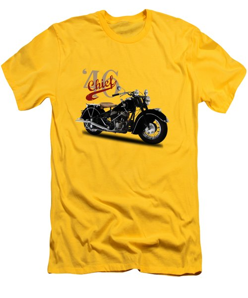 Indian Chief 1946 Men's T-Shirt (Slim Fit) by Mark Rogan