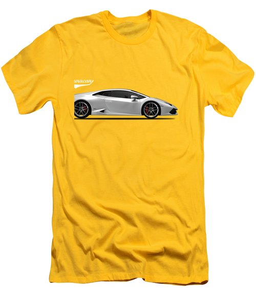 Lamborghini Huracan Men's T-Shirt (Slim Fit) by Mark Rogan