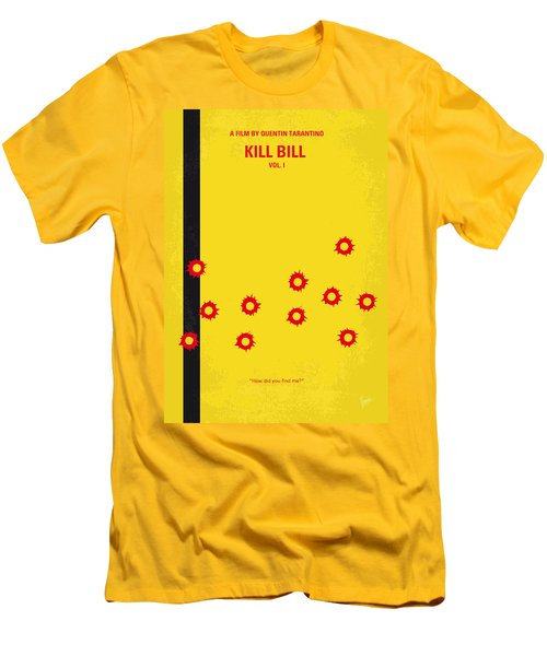 No048 My Kill Bill -part 1 Minimal Movie Poster Men's T-Shirt (Slim Fit) by Chungkong Art