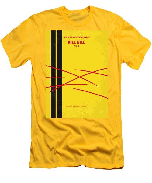 No049 My Kill Bill-part2 Minimal Movie Poster Men's T-Shirt (Slim Fit) by Chungkong Art