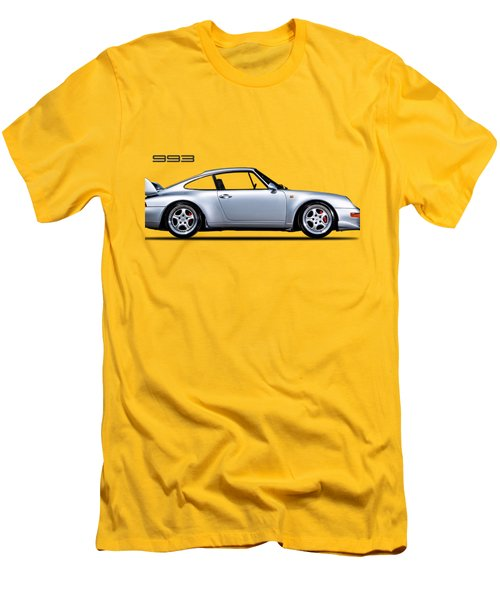Porsche 993 Men's T-Shirt (Slim Fit) by Mark Rogan