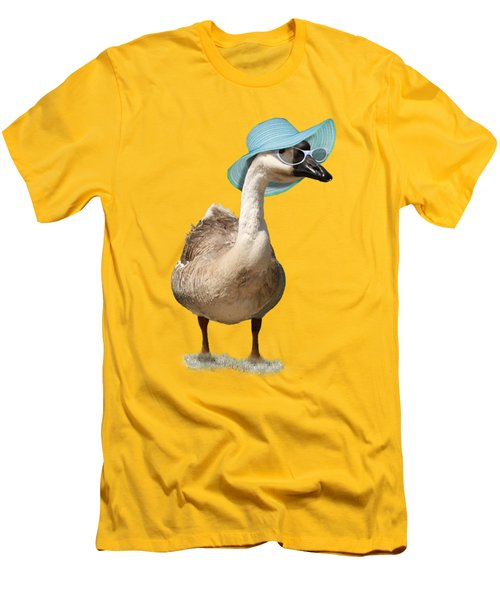 Summer Goose Men's T-Shirt (Slim Fit) by Gravityx9  Designs