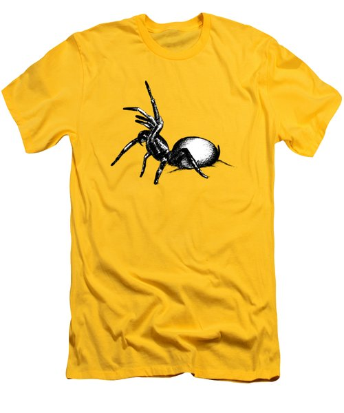 Sydney Funnel Web Men's T-Shirt (Slim Fit) by Nicholas Ely