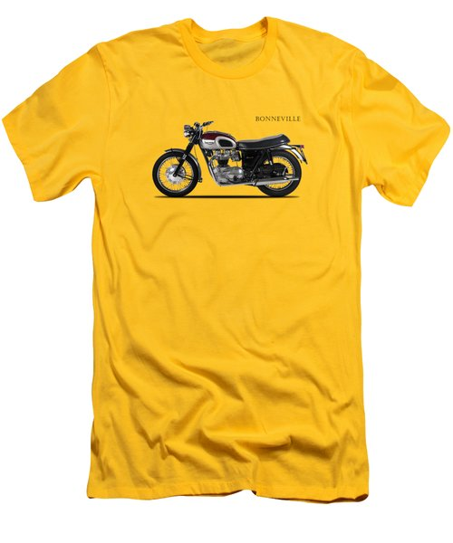 Triumph Bonneville 1968 Men's T-Shirt (Slim Fit) by Mark Rogan
