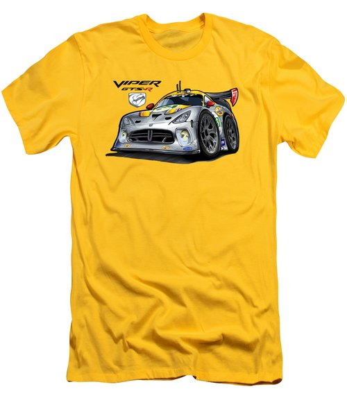 Viper Gts-r Car-toon Men's T-Shirt (Slim Fit) by Steven Dahlen