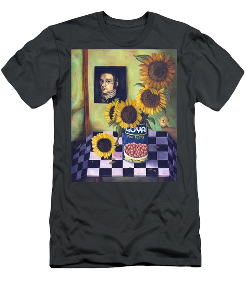 Goyas Men's T-Shirt (Slim Fit) by Leah Saulnier The Painting Maniac