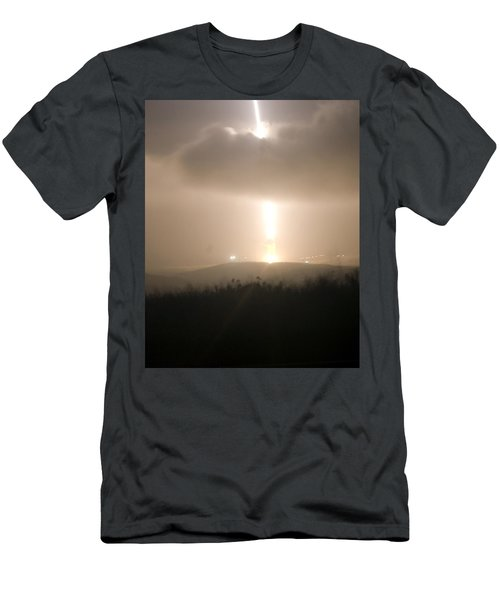 Men's T-Shirt (Slim Fit) featuring the photograph Minuteman IIi Missile Test by Science Source