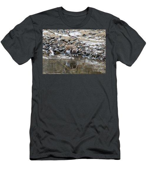 Mirror Mirror Men's T-Shirt (Slim Fit) by Mike Dawson