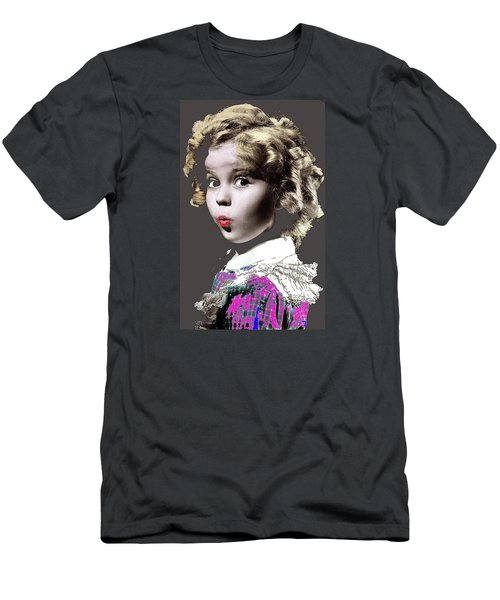 Shirley Temple Publicity Photo Circa 1935-2014 Men's T-Shirt (Slim Fit) by David Lee Guss
