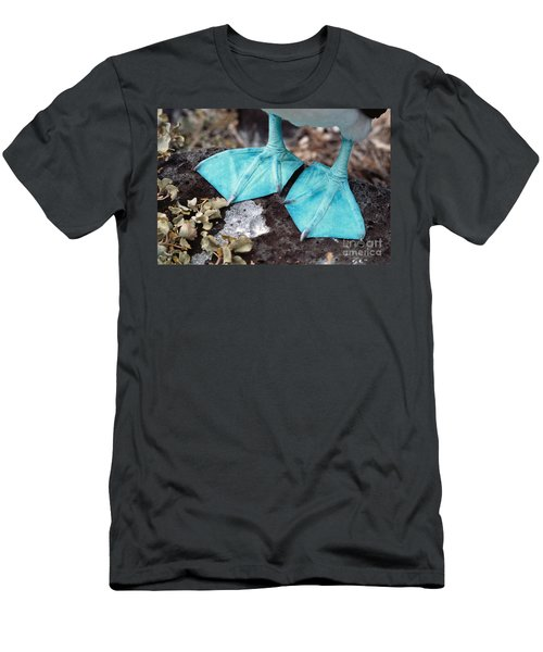 Blue-footed Booby Feet Men's T-Shirt (Slim Fit) by Ron Sanford