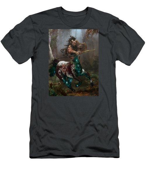 Centaur Token Men's T-Shirt (Slim Fit) by Ryan Barger