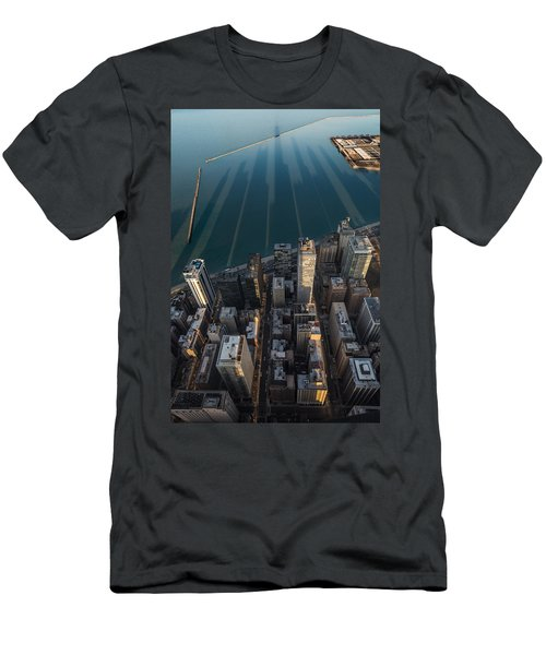Chicago Shadows Men's T-Shirt (Slim Fit) by Steve Gadomski