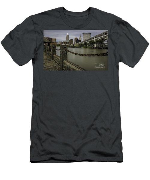 Cleveland Ohio Men's T-Shirt (Slim Fit) by James Dean