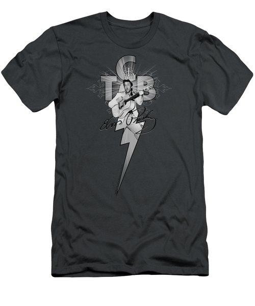Elvis - Tcb Ornate Men's T-Shirt (Slim Fit) by Brand A