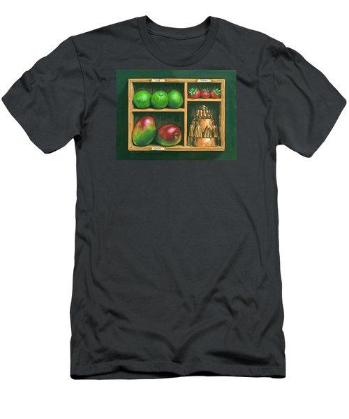 Fruit Shelf Men's T-Shirt (Slim Fit) by Brian James