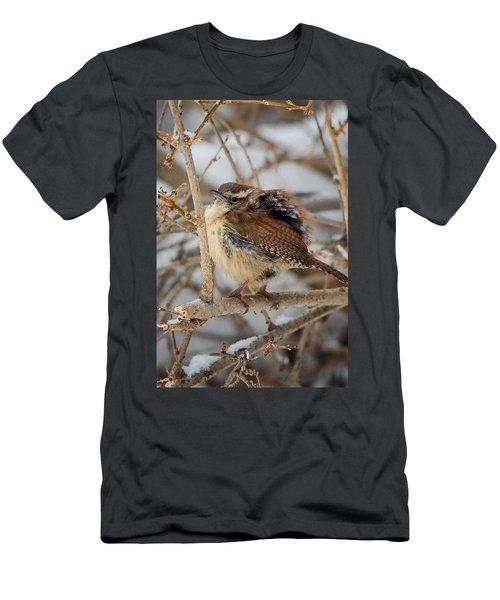 Grumpy Bird Men's T-Shirt (Slim Fit) by Bill Wakeley