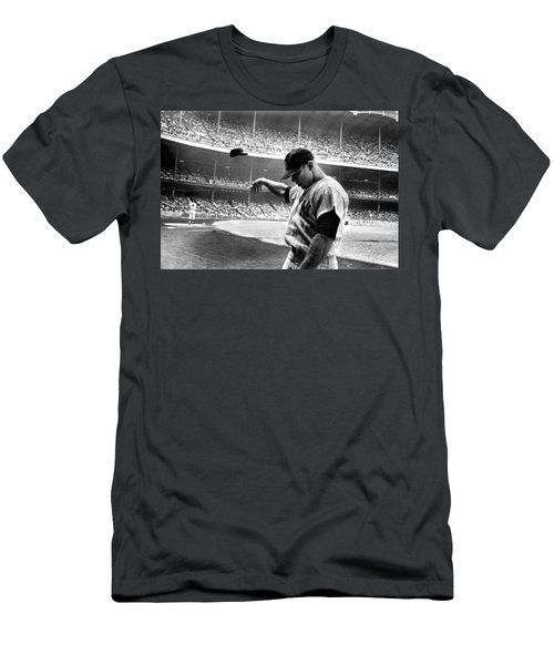 Mickey Mantle Men's T-Shirt (Slim Fit) by Gianfranco Weiss