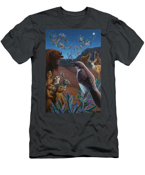 Moonlight Cantata Men's T-Shirt (Slim Fit) by James W Johnson
