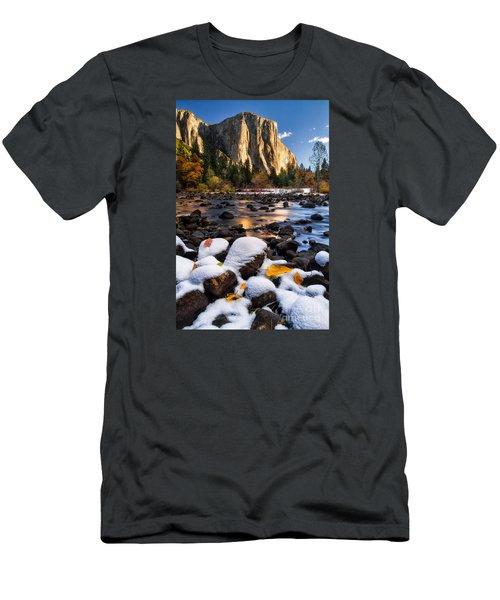 November Morning Men's T-Shirt (Slim Fit) by Anthony Bonafede