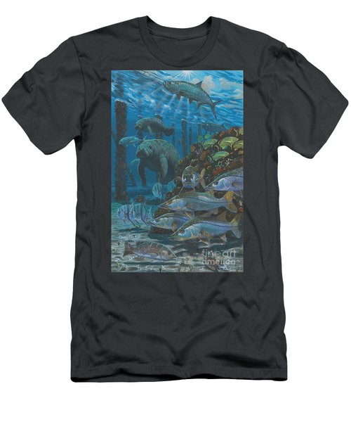 Sanctuary In0021 Men's T-Shirt (Slim Fit) by Carey Chen