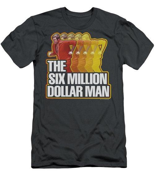 Smdm - Run Fast Men's T-Shirt (Slim Fit) by Brand A