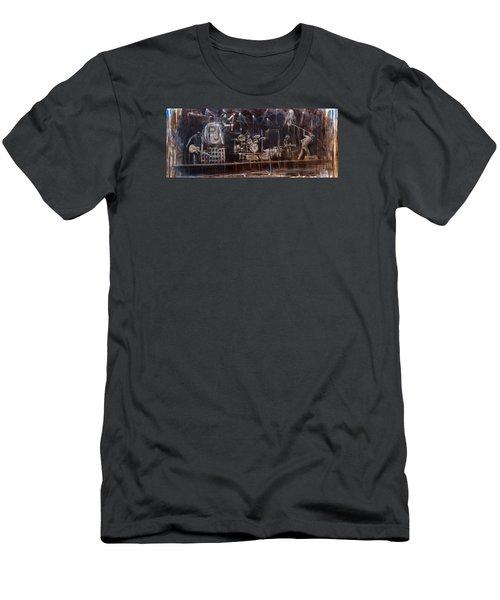 Stage Men's T-Shirt (Slim Fit) by Josh Hertzenberg