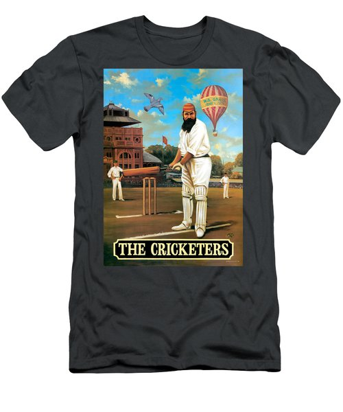 The Cricketers Men's T-Shirt (Slim Fit) by Peter Green