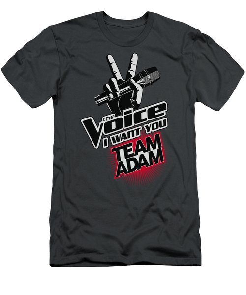 The Voice - Team Adam Men's T-Shirt (Slim Fit) by Brand A