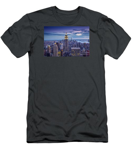 Top Of The World Men's T-Shirt (Slim Fit) by Marco Crupi