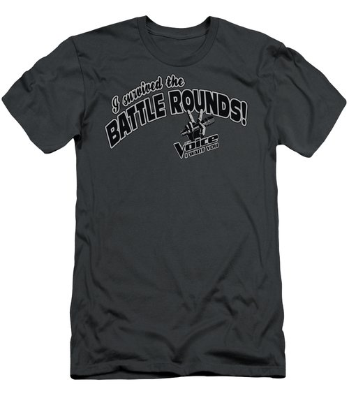 Voice - Battle Rounds Men's T-Shirt (Slim Fit) by Brand A