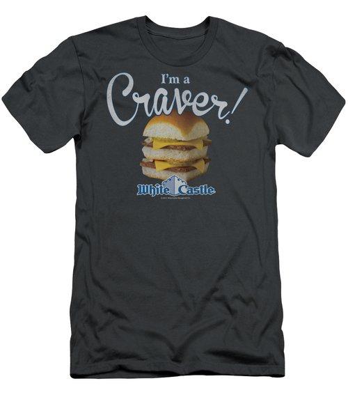White Castle - Craver Men's T-Shirt (Slim Fit) by Brand A