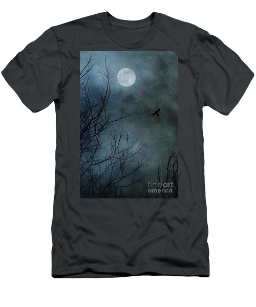 Winter's Silence Men's T-Shirt (Slim Fit) by Trish Mistric