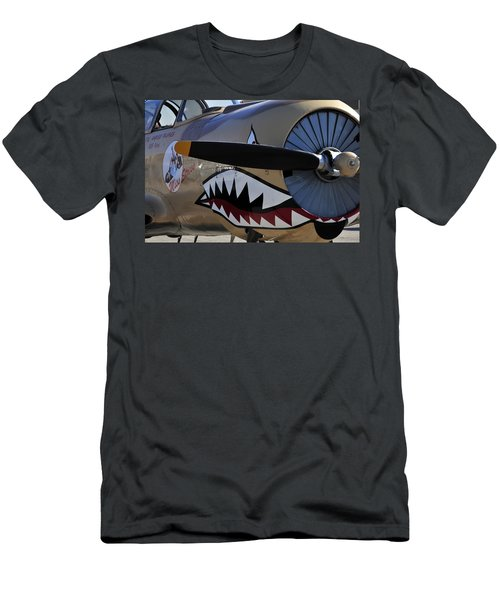 Mean Machine Men's T-Shirt (Slim Fit) by David Lee Thompson