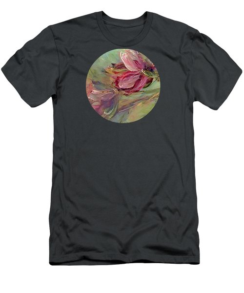 Flower Blossoms Men's T-Shirt (Slim Fit) by Mary Wolf