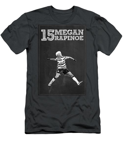 Megan Rapinoe Men's T-Shirt (Slim Fit) by Semih Yurdabak