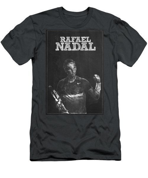 Rafael Nadal Men's T-Shirt (Slim Fit) by Semih Yurdabak
