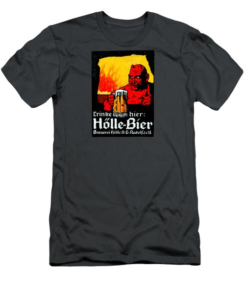 1905 German Beer Poster Men's T-Shirt (Slim Fit) by Historic Image