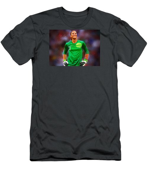 Hope Solo Men's T-Shirt (Slim Fit) by Semih Yurdabak