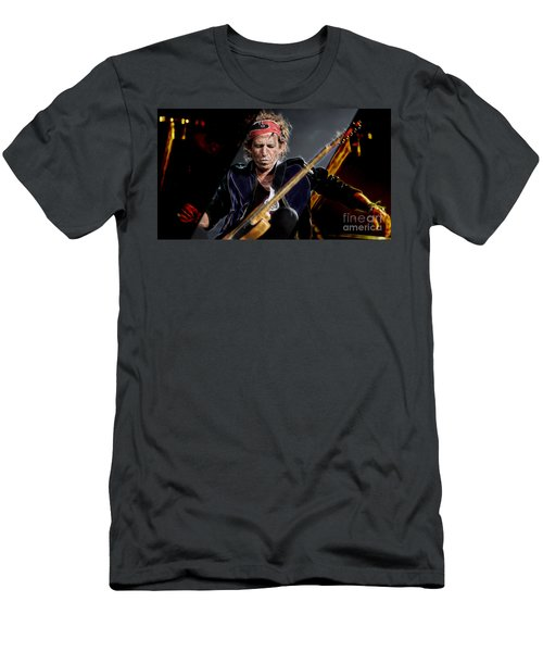 Keith Richards Collection Men's T-Shirt (Slim Fit) by Marvin Blaine